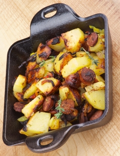 Sausages And Potato Stew